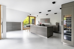 Private Living/ Kitchen design by Puro, Munster/ Germany